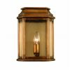 Elstead ST MARTINS BR Antique Brass Wall Lantern